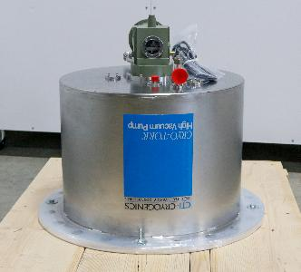 CTI CRYOGENICS CRYOGENIC VACUUM PUMP 10,000 L/S AIR