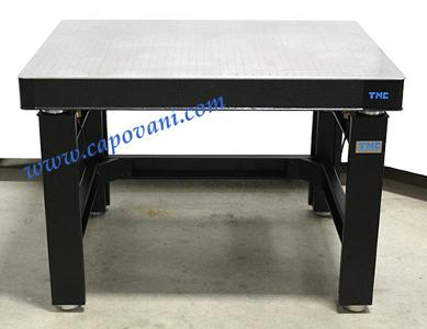 "TMC OPTICAL TABLE 3' X 4' X 4"" ACTIVE ISOLATION"