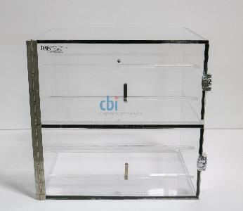 DMS TWO COMPARTMENT DESICCATOR BOX