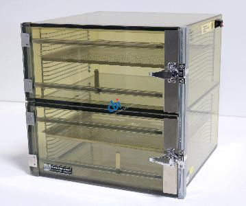 TERRA UNIVERSAL TWO COMPARTMENT DESICCATOR BOX